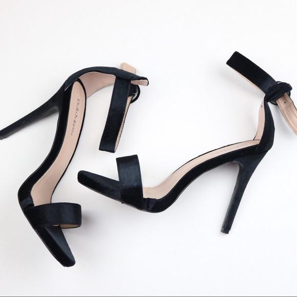 Open Toe Strappy Heels